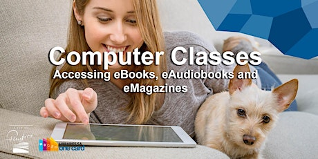 Computer Classes: Accessing eBooks, eAudiobooks and eMagazines tickets