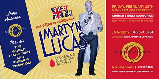 Martyn Lucas One Night In Hollywood. Benefiting Leukemia & Lymphoma Society