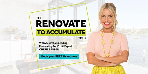 The Renovate To Accumulate Tour (Brisbane)