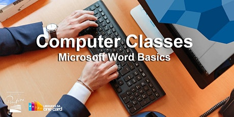 Computer Classes: Microsoft Word basics tickets