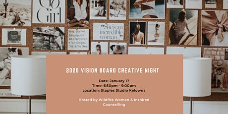 2020 Vision Board Creative Night tickets