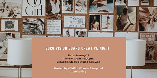 2020 Vision Board Creative Night