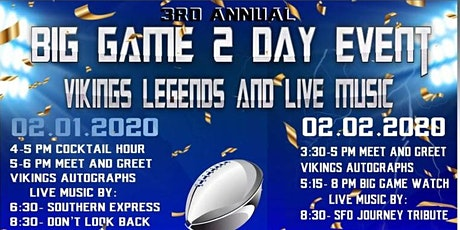Big Game 2 Day Event tickets