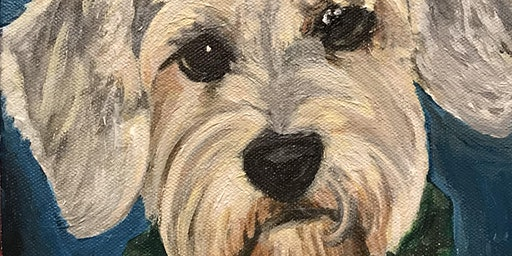 Pet Portrait Paint Night to Benefit BARCS
