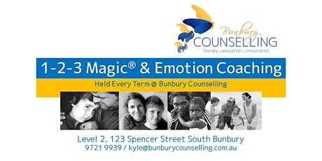 1-2-3 Magic and Emotion Coaching (Term 1, 2020) tickets