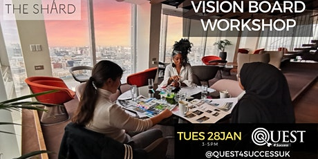 Vision Board Workshop at The Shard tickets