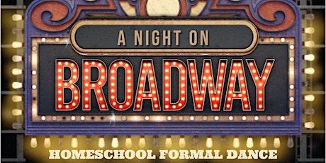 A Night on Broadway Homeschool Formal Dance tickets