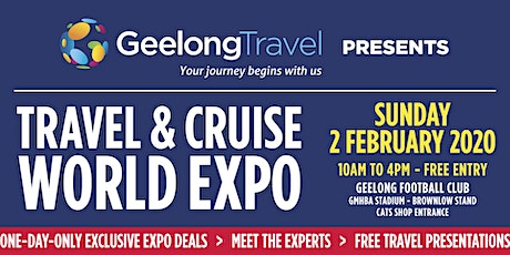 Geelong Travel & Cruise World Expo tickets