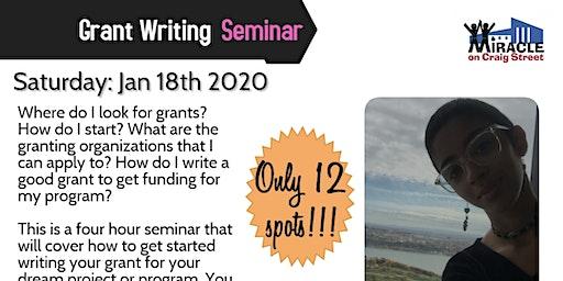 Grant Writing Seminar with Rosa Rivera