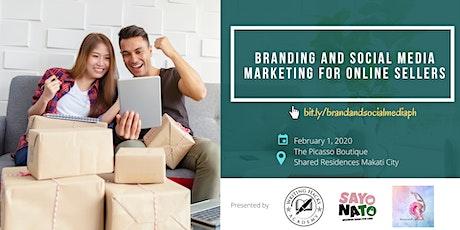 Branding & Social Media Marketing for Online Sellers tickets