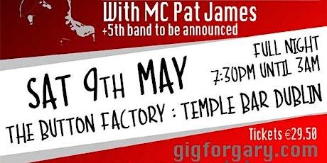 Postponed: Gig for Gary 2020 Dublin : Gary Moore Statue Belfast Fundraiser tickets