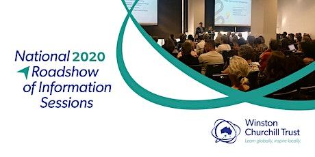 2020 Shepparton Churchill Fellowship Information Session tickets