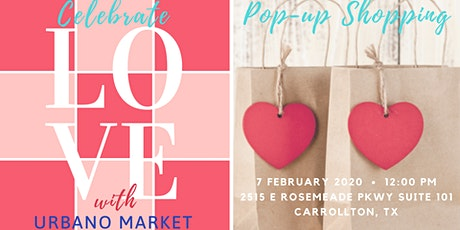 Celebrate Love with Urbano Market tickets