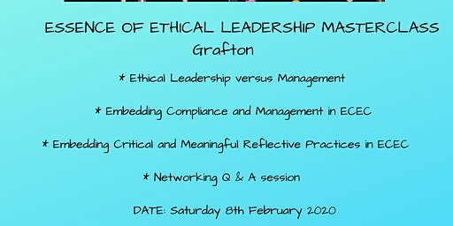 Essence of Leadership Masterclass Grafton
