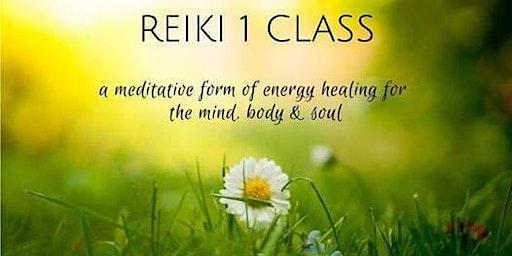 Reiki Level 1 Certification Class