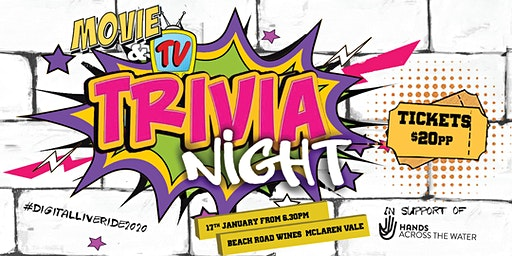 SOLD OUT - Movie/TV Charity Trivia Night