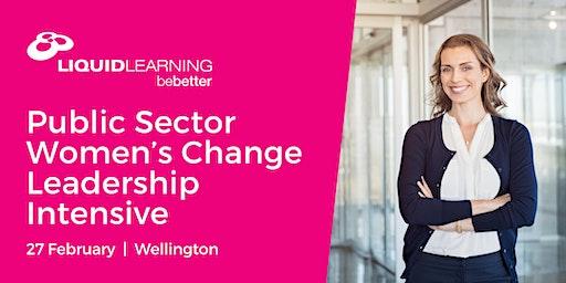 Public Sector Women's Change Leadership Intensive