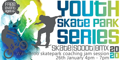 Freestyle Now / City of Wanneroo - Wanneroo skatepark coaching jam session - skateboard BMX Scooter - 26th January 2020