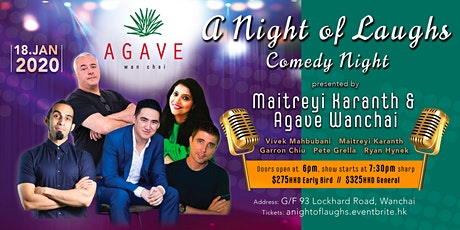 A night of Laughs - Agave tickets