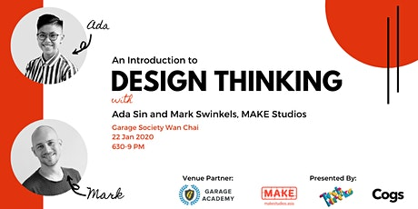 HK Techneeks: An Introduction To Design Thinking tickets