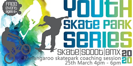 Freestyle Now / City of Wanneroo - Marangaroo skatepark coaching session - skateboard BMX Scooter - 25th March 2020 tickets