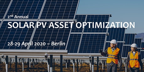 Solar PV Asset Optimization Forum, 2nd Annual tickets