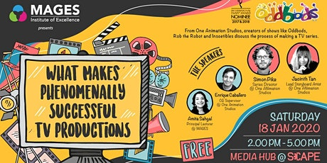 What Makes Phenomenally Successful TV Productions tickets