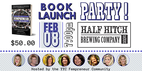 Book Launch Party hosted by YYC Fempreneurs tickets