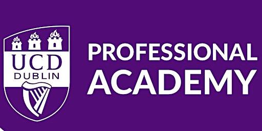 UCD Professional Academy Open Evening