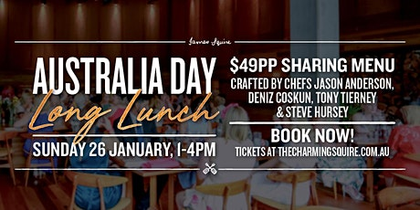Australia Day Long Lunch tickets