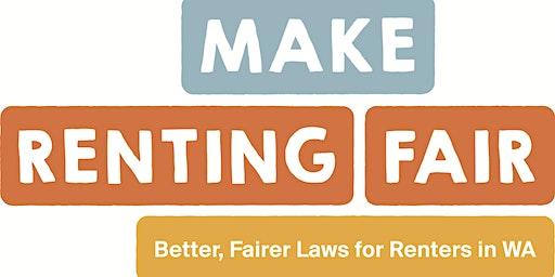 Make Renting Fair WA - campaign workshop 2