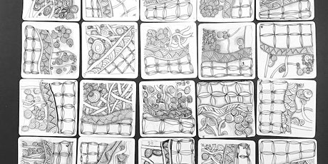 Zentangle 101  for Kids Aged 7 and Above: 29th February 2020 tickets