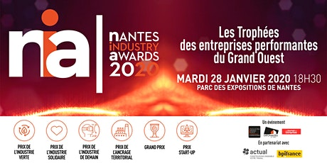 Nantes Industrie Awards billets