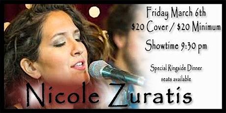 Nicole Zuratis - Friday March 6th, 2020 tickets