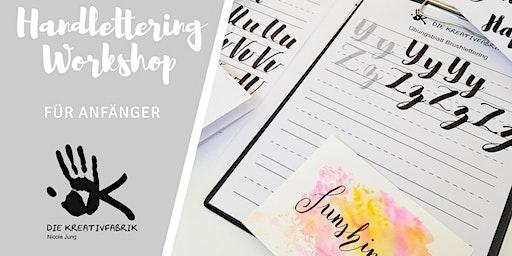 Handlettering Workshop für Anfänger