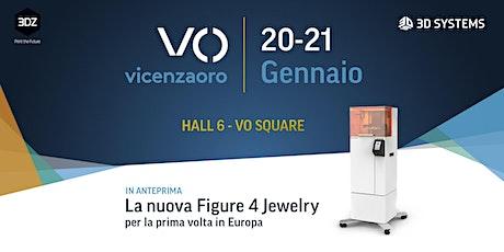 Lancio della stampante 3D Figure 4 Jewelry di 3D Systems biglietti