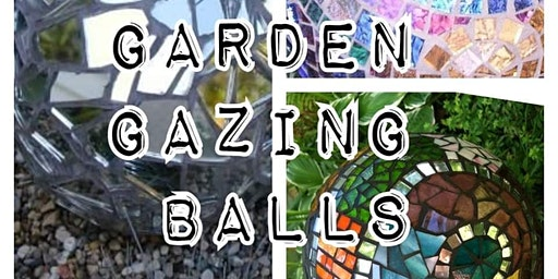 Mosaic Garden Gazing Ball Workshop