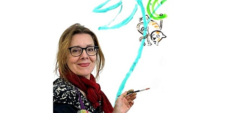 Colour into Character; Painting workshop with Bridget Marzo tickets