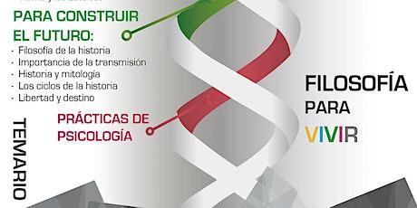 FILOSOFÍA PARA VIVIR tickets