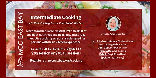Intermediate Pakistani Cooking | A 5-Week Cooking Course