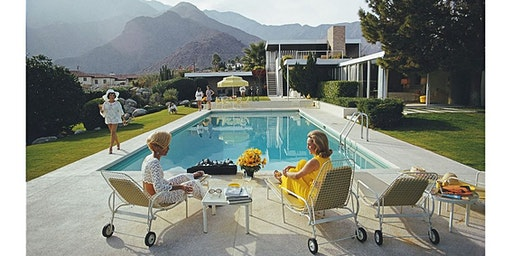 Slim Aarons Poolside Party at artrepublic gallery