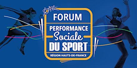 Forum régional de la performance sociale du sport billets