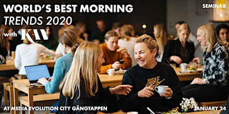 "World's Best Morning: ""Trends 2020"" tickets"