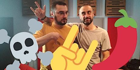 REGISTRAZIONE LIVE PODCAST con Yotobi e Daniele Fabbri (ingresso libero) biglietti