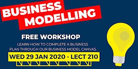 Business Model Canvas Workshop Tickets