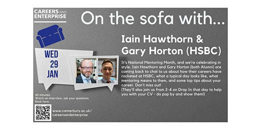 On the sofa with... Iain Hawthorn & Gary Horton (HSBC)
