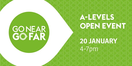 Keighley College A Level Open Event - Monday 20 January 2020  tickets