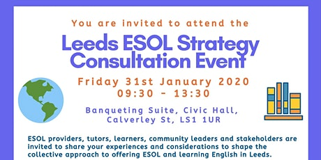 Leeds ESOL Strategy Consultation Event tickets