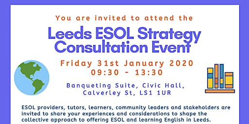 Leeds ESOL Strategy Consultation Event