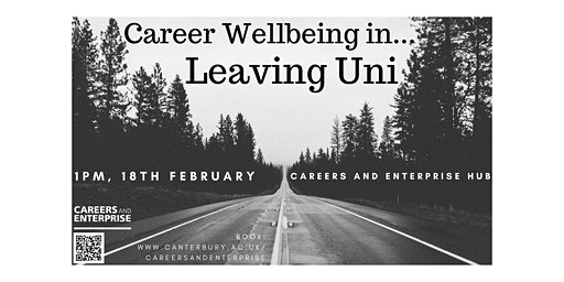 Career Wellbeing in... Leaving Uni